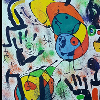 Joan Miro - Original Color Lithograph